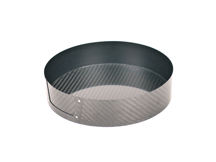 Low-wall carbon fiber cage, 40 mm