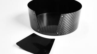 Cabon fiber cage, diameter 180 mm