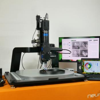 Invigilo- wide-field imaging system for awake mice
