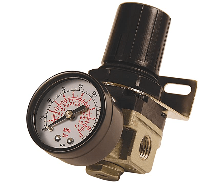 Basic air pressure regulator